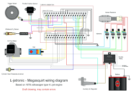 mega wiring harness f53 chassis diagrams rj11 6 wire new megasquirt RJ11 Wiring Standard megasquirt 2 external wiring diagram standalone schematic turbo in
