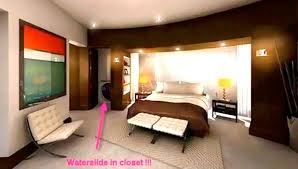 Really cool bedrooms with water Wallpaper If Arusty South Cool Or Fool New Trend Indoor Slides Home Bunch Interior Design