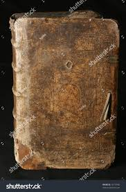 image of a layout of an old book