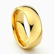 Tungsten Carbide Ring Size Chart Gold Tungsten Carbide Wedding Band