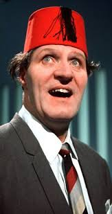 Tommy Cooper. In a spooky coincidence, the pie was discovered in Cooper's home town of Caerphilly, South Wales. Cooper was famous for wearing a red fez and ... - article-1220691-00BA305100000578-85_224x423