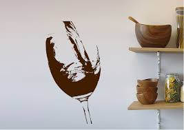 wine pouring 2 kitchen wine pouring 2 wall stickers