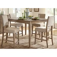 liberty furniture auburn piece counterheight gathering table