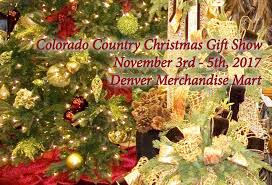Colorado Country Christmas Gift Show  Nov 3 4 U0026 5th 2017 Country Christmas Craft Show Denver