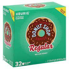 Of the original donut shop regular coffee each. The Original Donut Shop Coffee K Cup Pods Medium Roast Regular 32 0 39 Oz Vons
