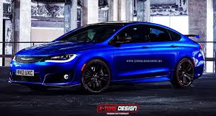 2018 chrysler 200. interesting 2018 chrysler 200 gt design study raises the question of a true performance model for 2018 chrysler