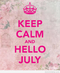 hello july card wallpaper with keep calm