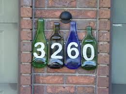 Decorative House Numbers Decorative House Numbers Signs Make A Mark With A House Number