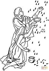 Small Picture Manna from heaven coloring page Free Printable Coloring Pages