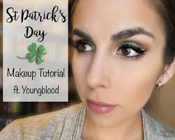 easy st patrick s day makeup tutorial step by step eye look