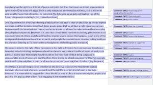 Example Summary Essay Annotated Ielts Essay Ted Ielts