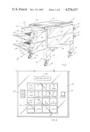 patent us tunnel oven patents patent drawing