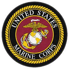 Buy U.S. Marines Corps Round Logo Rug Online | Rug Rats