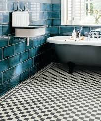 black white floor tiles octagon