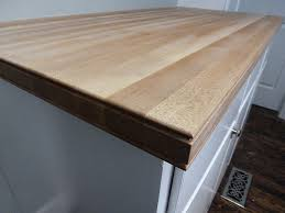 hard maple edge grain countertops