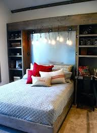 cool bedrooms guys photo. Cool Bedroom Decorations For Guys Rustic Wood And Hanging Bulbs Would Add This Awesome Industrial Touch Bedrooms Photo D