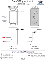 rocker switch wiring diagrams new wire marine simple boat diagram how to wire a boat switch panel at Simple Boat Wiring Diagram