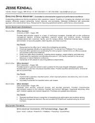 Front Office Assistant Sample Resume 24 Sample Resume For Medical Administrative Assistant Front Office 2