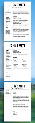 Free Resume Template For Mac Resume Template Resume Builder CV Template Cover Letter MS 37