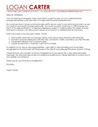 best s associate level cover letter examples livecareer edit