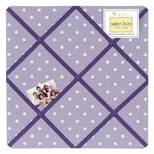 Purple Memo Board Inspiration Lavender And Purple Sloane Fabric MemoryMemo Photo Bulletin Board
