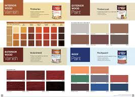 Outdoor Wood Paint Colour Chart Home Decor Ideas