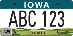 License Iowa com To New Get Wqad Plate Design Sometime 2018 In