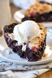 Image result for blueberry pie