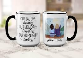 Shop custom coffee mugs from cafepress. Best Friends Mug Custom Best Friend Mug Customized Best Friend Coffee Mug Best Friend Gift Our Laughs Limit Custom Cup Friends Coffee Mug Friend Mugs Best Friend Mug