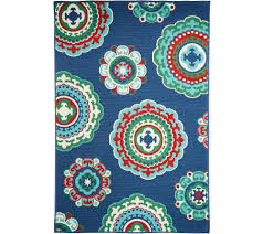 appealing tommy bahama outdoor rugs plus medallion 5 x7 indoor rug page 1 qvc com paradise island area to inspire your home improvement