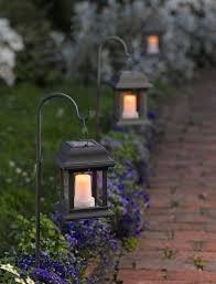 solar lighting garden solar flickering lantern to light the way solar garden solar powered outdoor lights