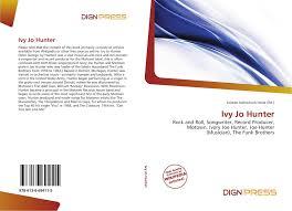 Ivy Jo Hunter, 978-613-6-69411-5, 6136694115 ,9786136694115