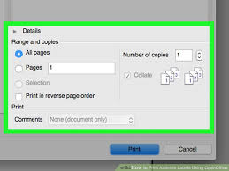 Avery 5260 Template Open Office How To Print Address Labels Using Openoffice With Pictures