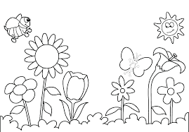 Spring Flowers Free Printable Coloring Pages Spring Flowers Coloring