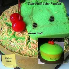 Koleksi Resep Cake Putih Telur Pandan Resep Ricke Facebook