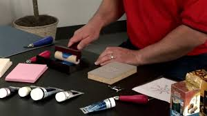 how to use sdball block printing materials