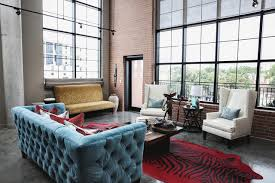 Modern Urban Loft (Designed by Estrada interior design)  industrial-living-room