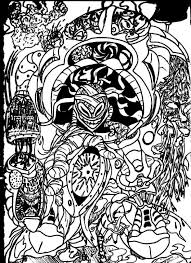 Small Picture Trippy Coloring Pages Coloring Pages Kids