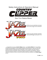 country clipper jazee jazee pro user manual by allpower issuu