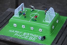 soccer pitch birthday cake My daughter wanted a soccer cak…