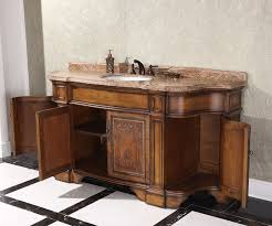 classic 60 inch bathroom vanity without top