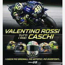 Buy online our valentino rossi helmets. Valentino Rossi Helmets Helmets 1 5 Centauria Select The File Ebay