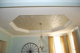 ceiling paint ideasTray Ceiling Crown Molding Paint  About ceiling tile