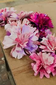 Diy Paper Flower How To Make Diy Paper Flowers Anthropologie Blog