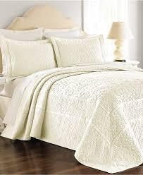 Martha Stewart Bedroom Furniture Martha Stewart Collection Flowering Trellis Ivory Bedspreads