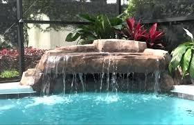 diy pool waterfall home elements and style medium size pool waterfall design ideas idea and decorations