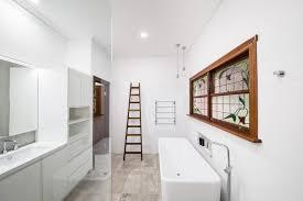 interior bathroom painting project