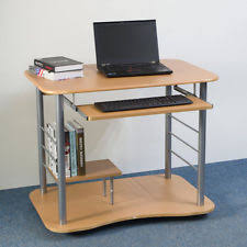 computer desk small. Portable Removable Square Computer Desk For Small Spaces Beech Wood Color T