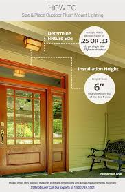 find modern exterior flush mount lighting fixtures that fit your house and brighten your home