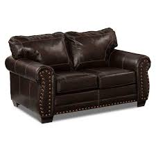 foto para espresso bonded leather loveseat